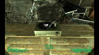 Easy Living played on an functional animated turntable for FO3