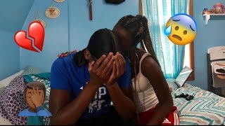 IN LOVE WITH SOMEONE ELSE PRANK ON BOYFRIEND!!!!!!!
