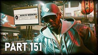 Cyberpunk 2077 - 100% Walkthrough Part 151 [PS5] – I Don't Wanna Hear It (Very Hard) (4K)