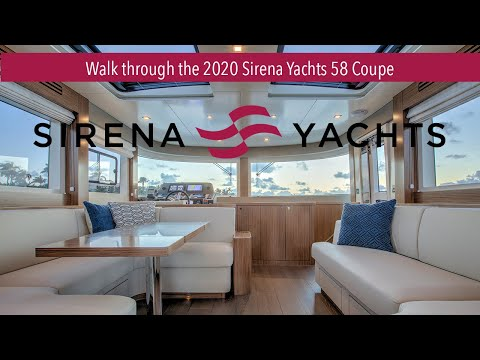 Walk Through The Sirena Yachts 58 Coupe