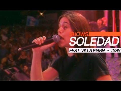 Soledad video Villa María 1998 - Show Completo