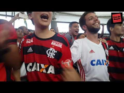 Cesar pegando Penalti Festa da Torcida até o apito final - Flamengo 1x0 Santos