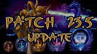 [Heroes of The Storm] MasterMind Tassadar - Patch 23.5 Update/Current Meta