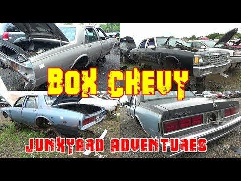 Box Chevy Caprice Junkyard Adventures / LS Swap 2 Door