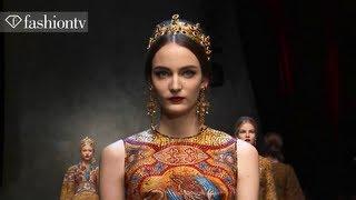 Dolce & Gabbana Fall/Winter 2013-14   Milan Fashion Week MFW   FashionTV