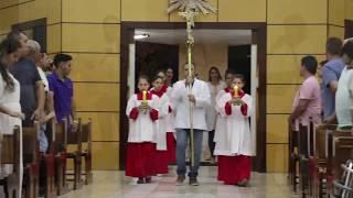 Canto de Entrada - Missa do 27º Domingo do Tempo Comum e 5º Dia da Novena a Nossa Senhora Aparecida (07.10.2018)