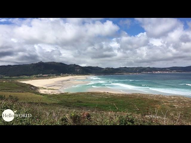 Blick Richtung Praia de Traba und Camelle/Arou