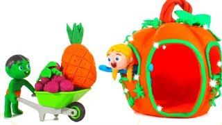 Kids New Pumpkin House ❤ Cartoons For Kids