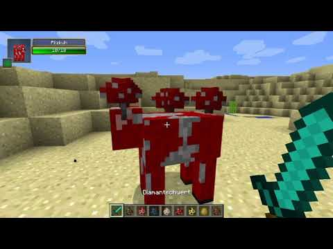 minecraft Entity Dismemberment Mod alle vanilla Mobs zerstückeln