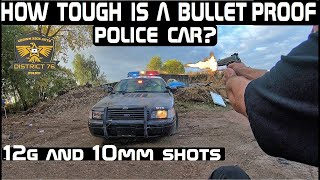 How Tough Are Bullet Proof Police Cars? Lets Find out! Crown Rick Auto