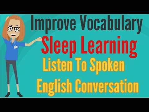 Improve Vocabulary ★ Learn English While Sleeping ★ Listening Practice Through Dictation ✔