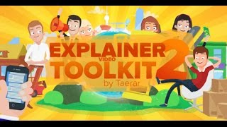 Explainer video toolkit 2 template for After Effects