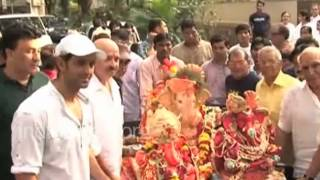 Ganesh Chathurthi celebrations by Bollywood stars