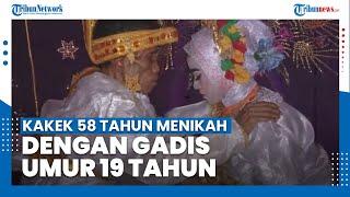 Kakek 58 Tahun Nikahi Gadis 19 Tahun di Bone, Dinikahkan Tanpa Paksaan
