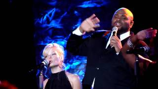 Clay Aiken and Ruben Studdard 80s Medley Part 1 (Reno, NV)