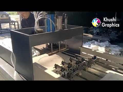 T Shirt Bag Making Machine, W / U Cut Bag Making Machine