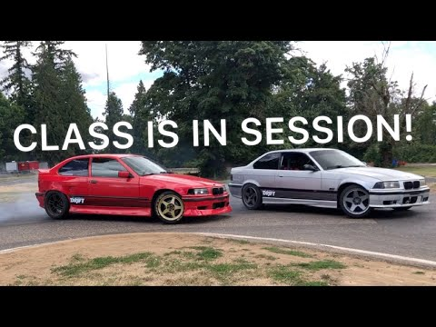 TESTING OUT THE SCHOOL OF DRIFT CARS!!