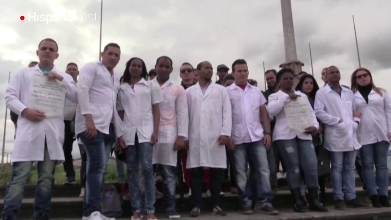 Médicos cubanos huyen del chavismo y piden asilo en EE.UU.