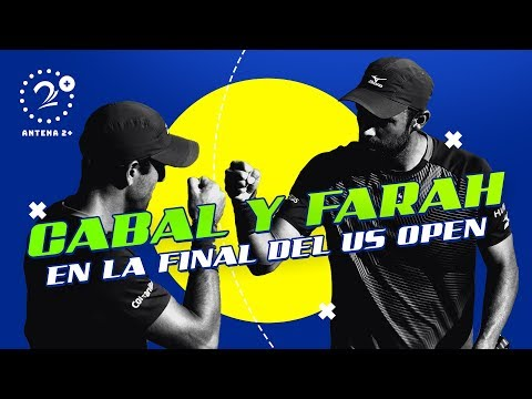 Cabal y Farah EN VIVO en la final del US Open 2019