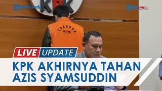 Wakil Ketua DPR Azis Syamsuddin Ditetapkan Jadi Tersangka, Terlibat Suap Penyidik KPK Robin Pattuju