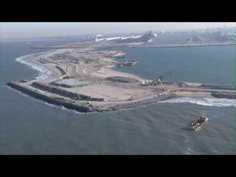 Aannemerscombinatie PUMA haalt Maasvlakte 2 uit zee.