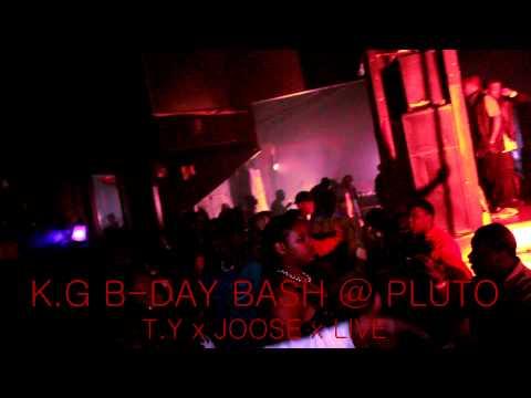 K G B DAY BASH @ PLUTO T Y x JOOSE 9 999 x LIVE!!!