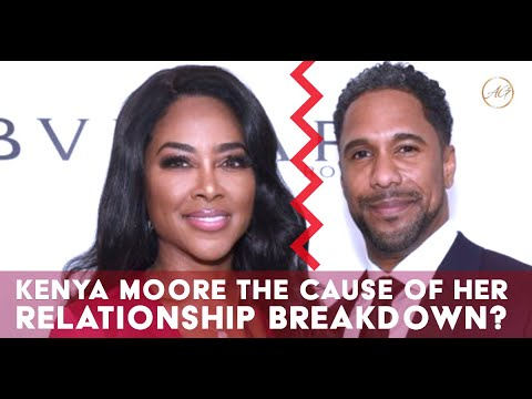 Kenya Moore & Husband Marc Daly Calls Marriage A Quit After 2 Years & A Baby
