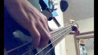 The cranberries - I really hope bass cover