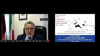 """Anteprima video Presentazione del volume """"Rapporto sui conflitti e sulla conciliazione 2019 - 2020""""  Istituto Arturo Carlo Jemolo"""