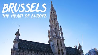 preview picture of video 'Travel to Brussels: The Heart of Europe!'