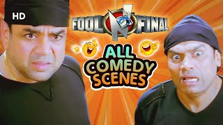 Hindi Comedy Scenes of Superhit Movie Fool N Final - Sunny Deol - Paresh Rawal - Johnny Lever