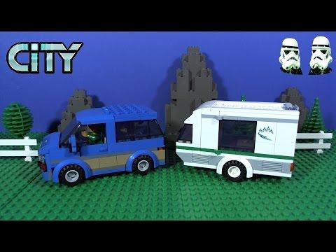Vidéo LEGO City 60117 : La camionnette et sa caravane