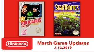 Nintendo Entertainment System - March Game Updates - Nintendo Switch Online