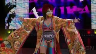 wwe-2k17-asuka-full-ring-entrance-video