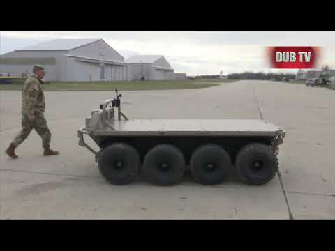 US War ROBOTS: New Military Robots Assist Soldiers In The Field Of War