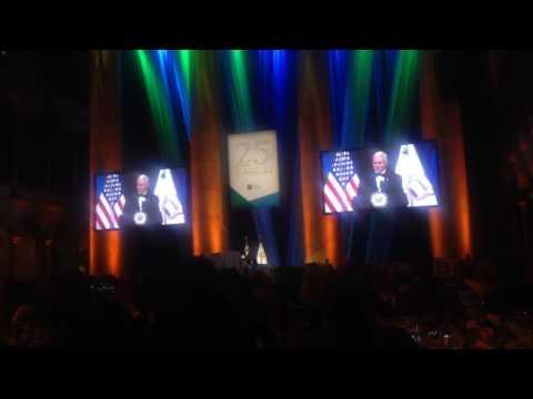 US VP Mike Pence at Irish Funds gala