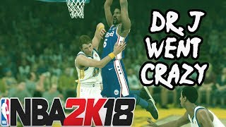 NBA 2K18 Play Now Online | All-Time 76ers DR. J Had Three Posterizers In One Game