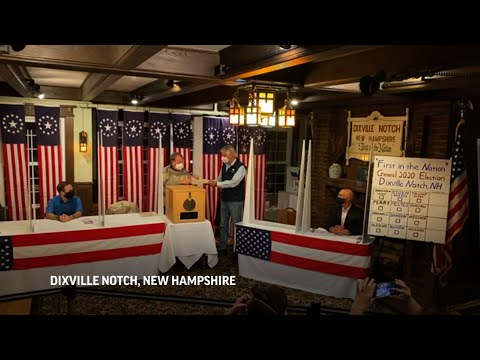 Biden Secures Victory In Dixville Notch Of New Hampshire