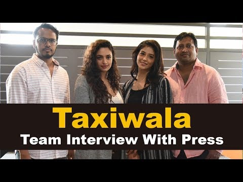 taxiwala-movie-team-interview-with-press