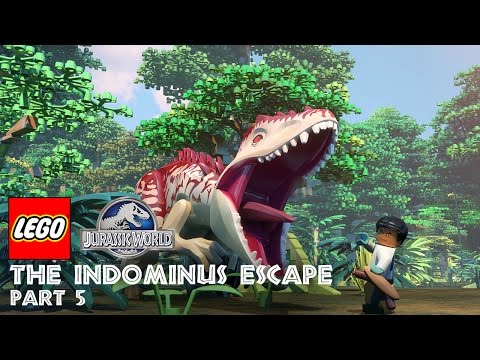 Part 5: LEGO® Jurassic World: The Indominus Escape
