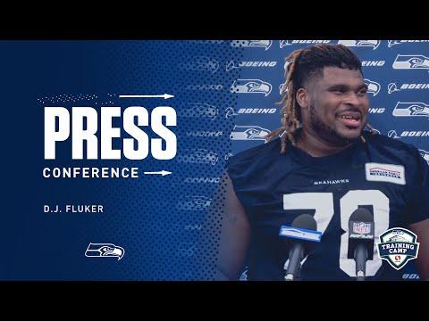 Seahawks Guard D.J. Fluker Training Camp Day 9 Press Conference