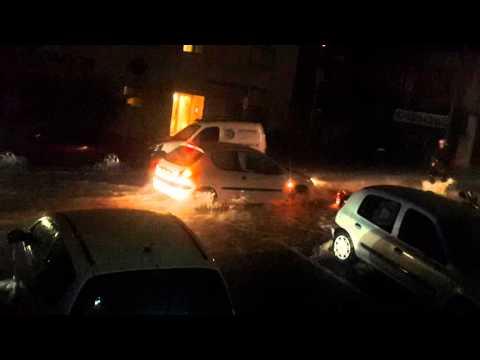 Alluvione in Costa Azzurra, notte da paura a Cannes e Nizza