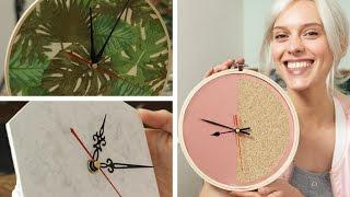 Günstiges Weihnachtsgeschenk: 3 einfache DIY Uhren | DIY  | Jelena
