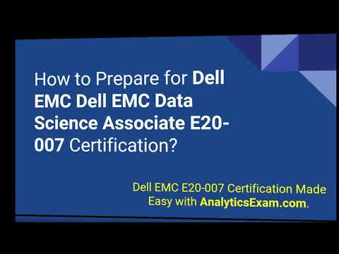 Preparation Guide for Dell EMC Data Science and Big Data ...