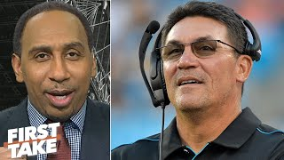 Stephen A. applauds the Redskins for hiring Ron Rivera | First Take