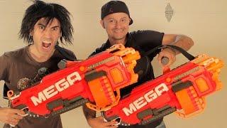 Nerf War: BIG GUNS!