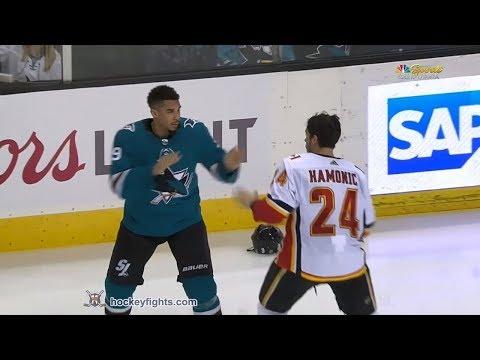 Evander Kane vs. Travis Hamonic