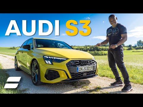 NEW Audi S3 Review: Better Than a Mercedes A35?   4K