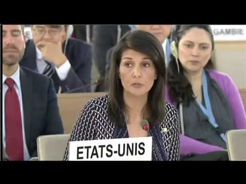 Ambassador Haley Delivers Remarks at the United Nations Human Rights Council - 6/6/17