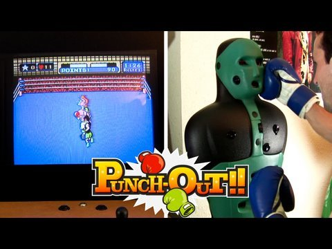 NES Punch-Out Controller Will Actually Make You Sweat